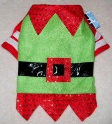 Dog Christmas Holiday Outfit