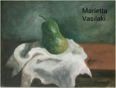 Still-life.. Watercolours.. by Marietta Vasilaki