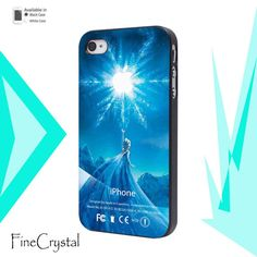 Disney Frozen Elsa Apple Frozen Logo or iPhone 4/4S iPhone 5/5S/5C Samsung Galaxy S3 Samsung Galaxy S4 on Etsy, $14.99