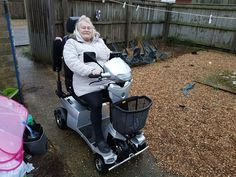 Mrs Conway loves her Vitess 2 mobility scooter which one will be perfect for you? Get a home test drive here http://contact.quingoscooters.com/social-mobility-scooters
