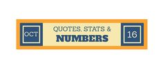 Quotes, Stats & Numbers – Oct | Metropole