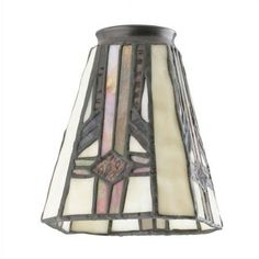 Westinghouse Lighting 4.75'' Tiffany Glass Empire Wall Sconce Shade (Set of 2)