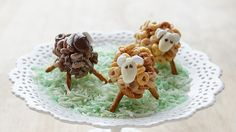 With a few simple ingredients and a bit of creativity, you can turn Multi Grain and Chocolate Cheerios into a flock of friendly, fluffy sheep!