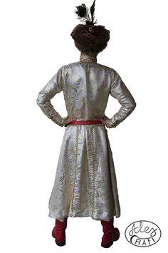 Szlachecki strój Polski. Żupan. pas do szabli, buty husarskie. Polish, Costumes, Dresses, Fashion, History, Vestidos, Moda, Varnishes, Dress Up Clothes