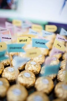 Treat your eyes and taste buds to these edible reception decor! | www.BridalBook.ph