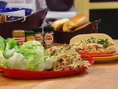 Curry Chicken Salad looks delicious AND the chicken pot pie, tuna pasta salad, and the chicken noodle dish from this show all look delightful!