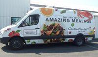 van wrap Catering Van, Van Wrap, Commercial Vehicle, Print Wrap, Recreational Vehicles, Car, Vehicle Wraps, Wrapping, Tacos