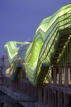 Sustainable architecture: Cite de la Mode et Du Design in Paris. Architects:  Jakob + MacFarlane Architects