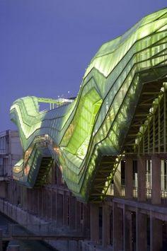 Sustainable architecture: Cite de la Mode et Du Design in Paris. Architects:  Jakob + MacFarlane Architects