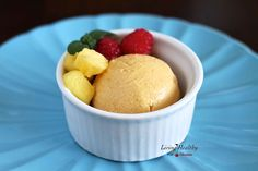 Dairy Free Summertime Mango Coconut Sorbet (Dairy Free, Paleo) Recipe
