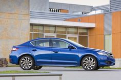 2016 Acura ILX A Spec Side Profile 02 - Provided by Automobile