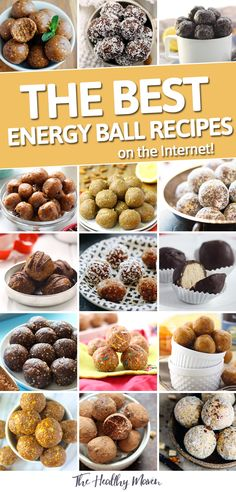Looking for a new favorite energy ball recipe? Look no further than this list of the BEST Energy Ball Recipes on the internet. With 50 recipes to choose from you'll have no trouble finding your perfect match.