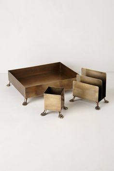 Bestiary Desk Suite - anthropologie.com