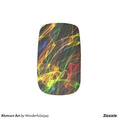 #Abstract #Art #Minx® #Nail #Wraps #colorful #beauty #fashion #women #modern #trendy #chic #love