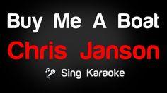 Chris Janson - Buy Me A Boat Karaoke Lyrics