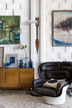 Elda chair in Mark Baxter's Home
