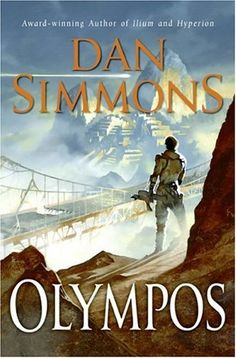 Olympos by Dan Simmons  Mixture of Greek gods, science fiction, sentient robots, strange afterlife and all-powerful evil. Sooooo good. It's the sequel to Ilium