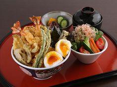 大海老天丼季節の天ぷら 銀座ハゲ天