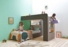 Arriba y abajo. Doble dormitorio infantil por Thomas Durner.