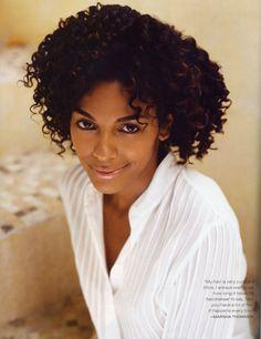 Picture of Marsha Thomason Beautiful Gorgeous, Beautiful Women, Marsha Thomason, Curly Hair Styles, Natural Hair Styles, Lab, Straight Black Hair, Christine Feehan, Curl Curl