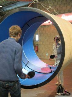 Ping pong tubular | Bazinga! Imágenes curiosas, vídeos espectaculares. ¡Actualizado a diario!