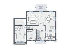 Musterhaus CityLife 500 Grundriss Erdgeschoss