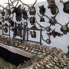 Antique Antler Mounts, Marburger 2013