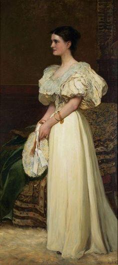 Portrait of Herich Leoni by Karoly Lotz (1833-1904)