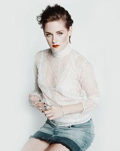 "kristensource: """"2015 | Kristen Stewart for Marie Claire US thanks AdoringKS "" """