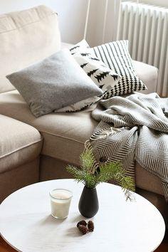 hallo winter + gewinnt ein Kuschelpaket mit Decke und Kissen von urbanara