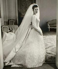 Princess Hélène of Orléans, Countess of Limburg-Stirum  Newer Older January 21, 1957: Wedding of Count Evrard of Limburg Stirum and Princess Hélène of Orléans in Dreux