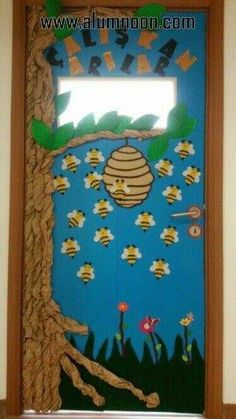 30 Classroom decorating ideas - Aluno On Classroom Board, Preschool Classroom, Classroom Themes, Preschool Activities, Vbs Crafts, Camping Crafts, Crafts For Kids, Class Decoration, School Decorations