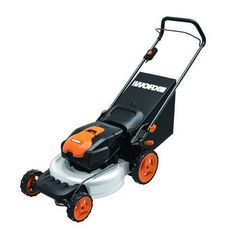WORX 19 in. 13 Amp Caster Wheeled Electric Lawn Mower - The WORX 19 in. 13 Amp Caster Wheeled Electric Lawn Mower mulches, bags, and discharges with ease. This durable mower moves with ease on its. Best Riding Lawn Mower, Best Lawn Mower, Lawn Mower Tractor, Riding Mower, Revolution, Walk Behind Lawn Mower, Cordless Lawn Mower, Deck Cleaning