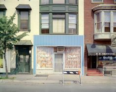 Stephen Shore, Sha-Mar Beauty Salon, Chestnut Street, Harrisburg, Pennsylvania, July 4, 1973