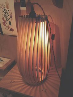 Gladys birch wooden lamp by 5 Points | A Creative Union #makewhathasntbeenyet #weare5points