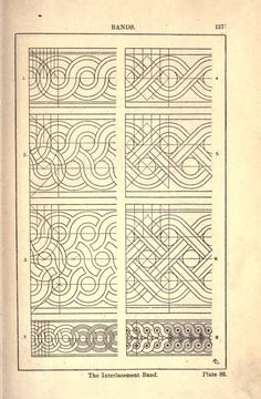 Celtic Patterns, Celtic Designs, Tangle Patterns, Embroidery Patterns, Draw Tutorial, Pattern Art, Pattern Design, Graph Paper Art, Border Design