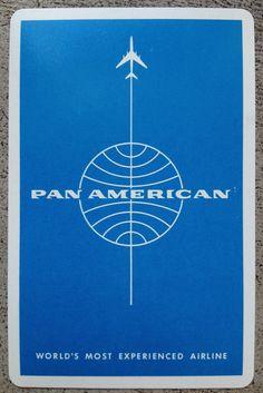 Pan Am Playing Card (1960s)