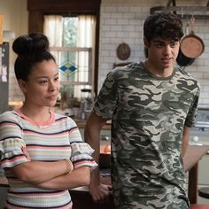 Sneak peek photos from Tuesday's episode of #thefosters. Ana comes over to talk to the twins.