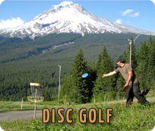 Mt. Hood Adventure Park - Disc Golf