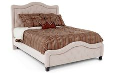 hate the bedding, like the bed frame head & footboard