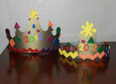 Easy New Year's Eve Party Crowns