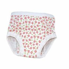 Kids Basics Training Pant in Petite Flowers, 2T-4T Under the Nile. $13.00