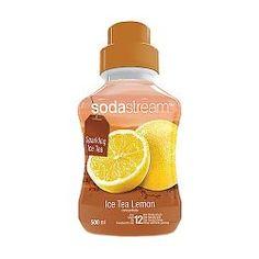 Limsauutepullo SodaStream Ice Tea Lemon 12litraa