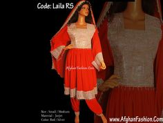 New style of afghan dresses