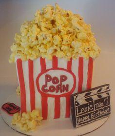 popcorn cake - Google Search