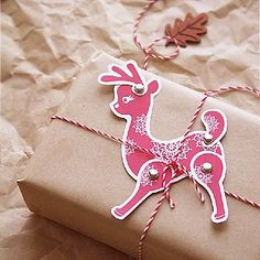 Add Christmas Cheer With These 25 Free Holiday Gift Tags: If you want to give your gifts and other holiday items an extra decorative spark this year, add one of these gift-tag and label  printables.