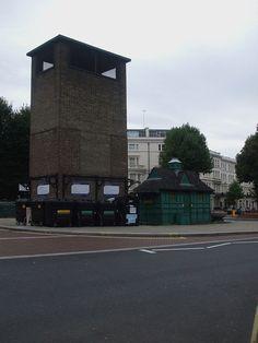 Warwick Avenue stn ventilation tower - Warwick Avenue tube station - Wikipedia, the free encyclopedia