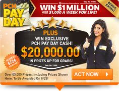 Enter our free online sweepstakes and contests for your chance to take home a fortune! Will you become our next big winner? Instant Win Sweepstakes, Online Sweepstakes, Pch Dream Home, Lotto Winning Numbers, Promotion Card, Win For Life, Lottery Results, Instant Win Games, Instant Cash