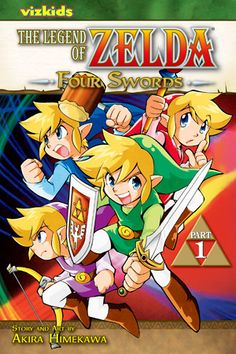 online retailer aa84d 916ef Manga  Legend of Zelda  Four Swords Part 1 (Vol. I just read it and I don t  have part two.