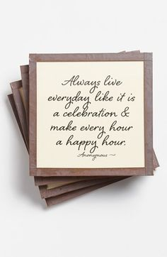 make every hour a happy hour!